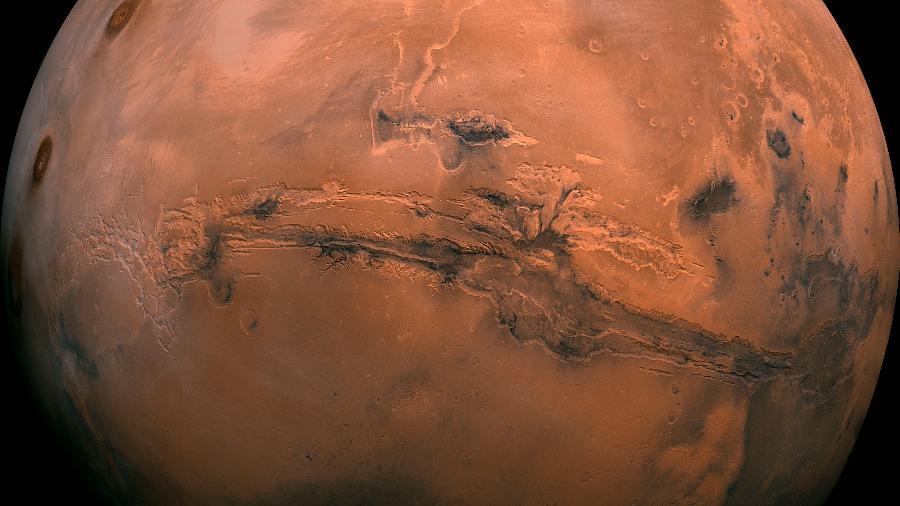 Imagem de Marte (Créditos: Nasa)