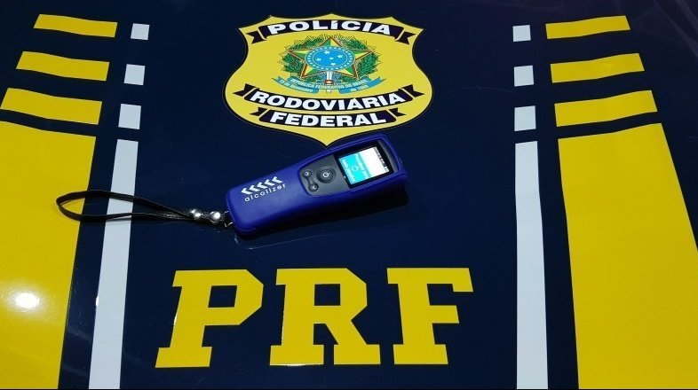Condutor embriagado foi preso pela PRF / Crédito: PRF