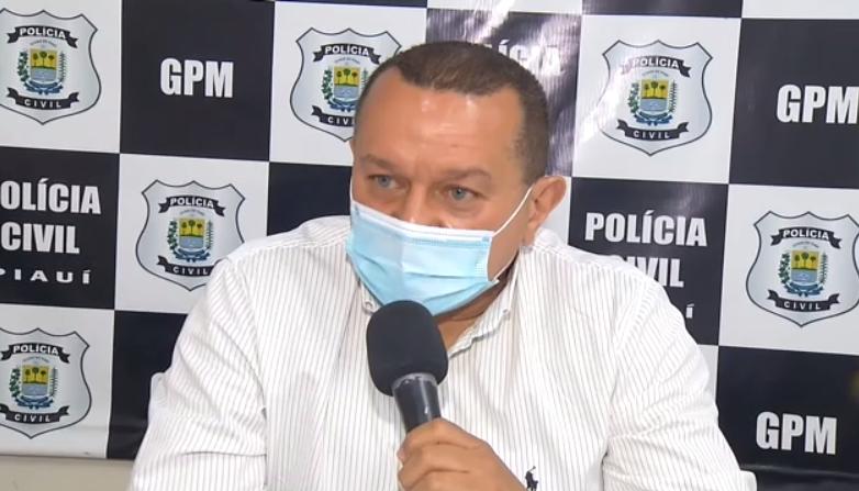Gerente do Grupamento da Polícia Militar, delegado Sebastião Leal - Foto: Reprodução/TV Meio Norte
