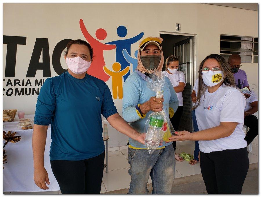 Garis e varredeiras recebem kits de higienização e proteção individual  - Imagem 6