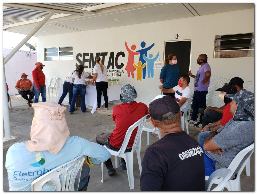 Garis e varredeiras recebem kits de higienização e proteção individual  - Imagem 4
