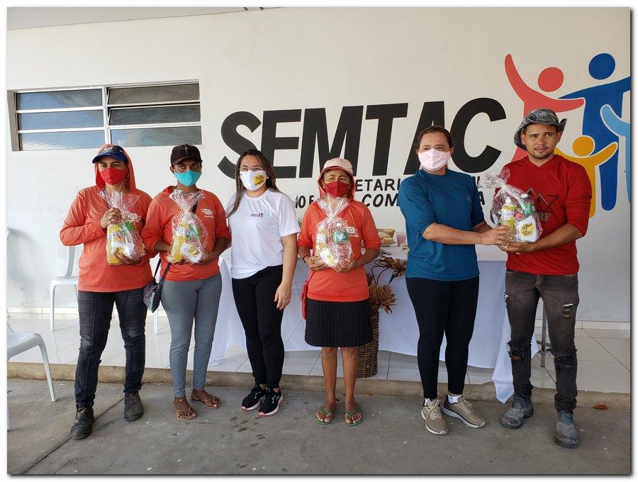 Garis e varredeiras recebem kits de higienização e proteção individual  - Imagem 9