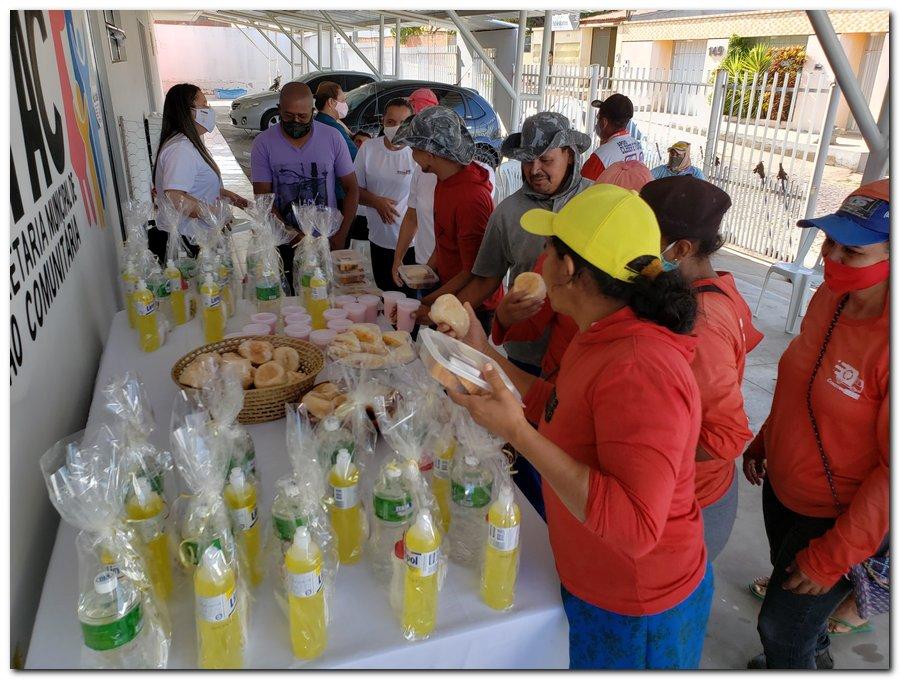 Garis e varredeiras recebem kits de higienização e proteção individual  - Imagem 5