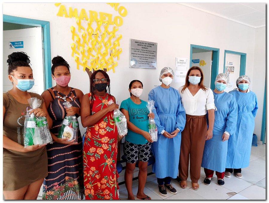 Secretaria de Saúde realizou entrega de kits de higiene  - Imagem 1