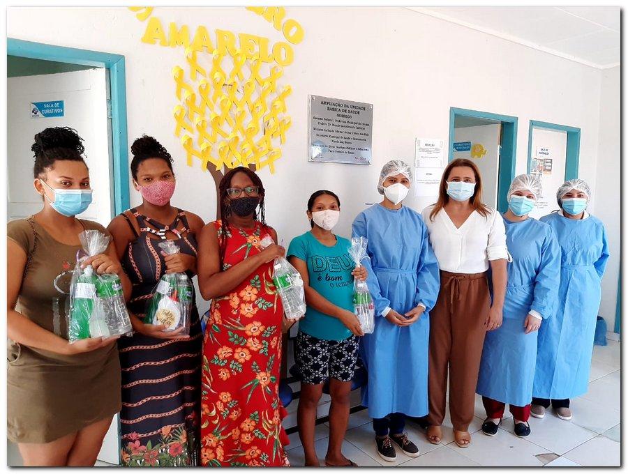 Secretaria de Saúde realizou entrega de kits de higiene  - Imagem 23