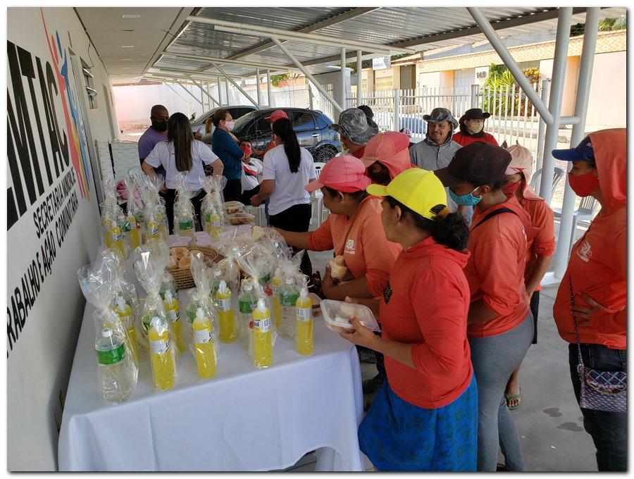 Garis e varredeiras recebem kits de higienização e proteção individual  - Imagem 3