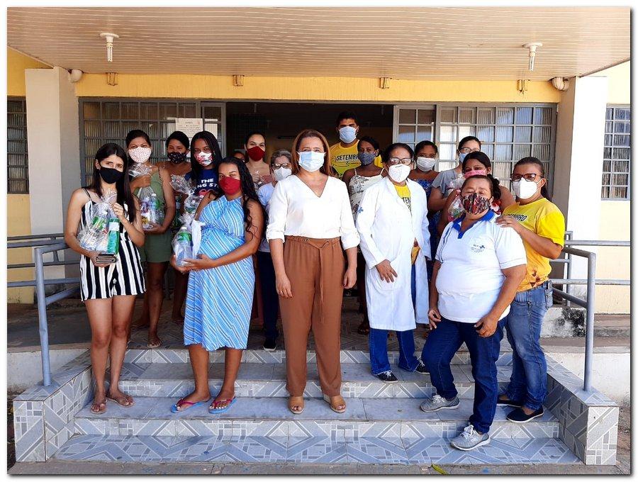 Secretaria de Saúde realizou entrega de kits de higiene  - Imagem 6