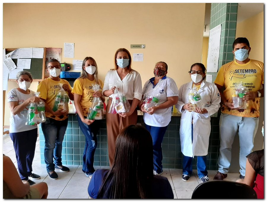 Secretaria de Saúde realizou entrega de kits de higiene  - Imagem 8