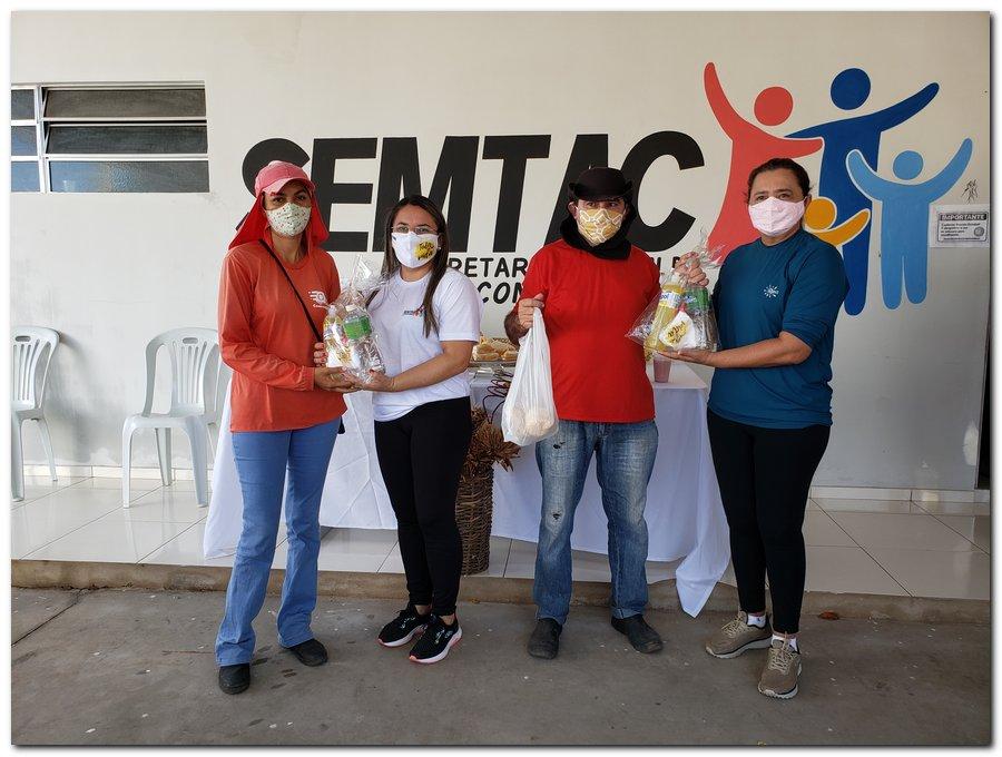 Garis e varredeiras recebem kits de higienização e proteção individual  - Imagem 8