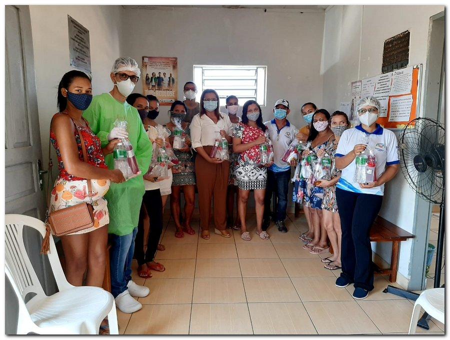 Secretaria de Saúde realizou entrega de kits de higiene  - Imagem 10