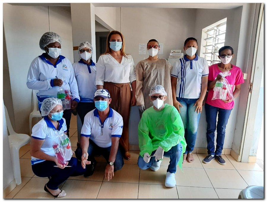 Secretaria de Saúde realizou entrega de kits de higiene  - Imagem 9