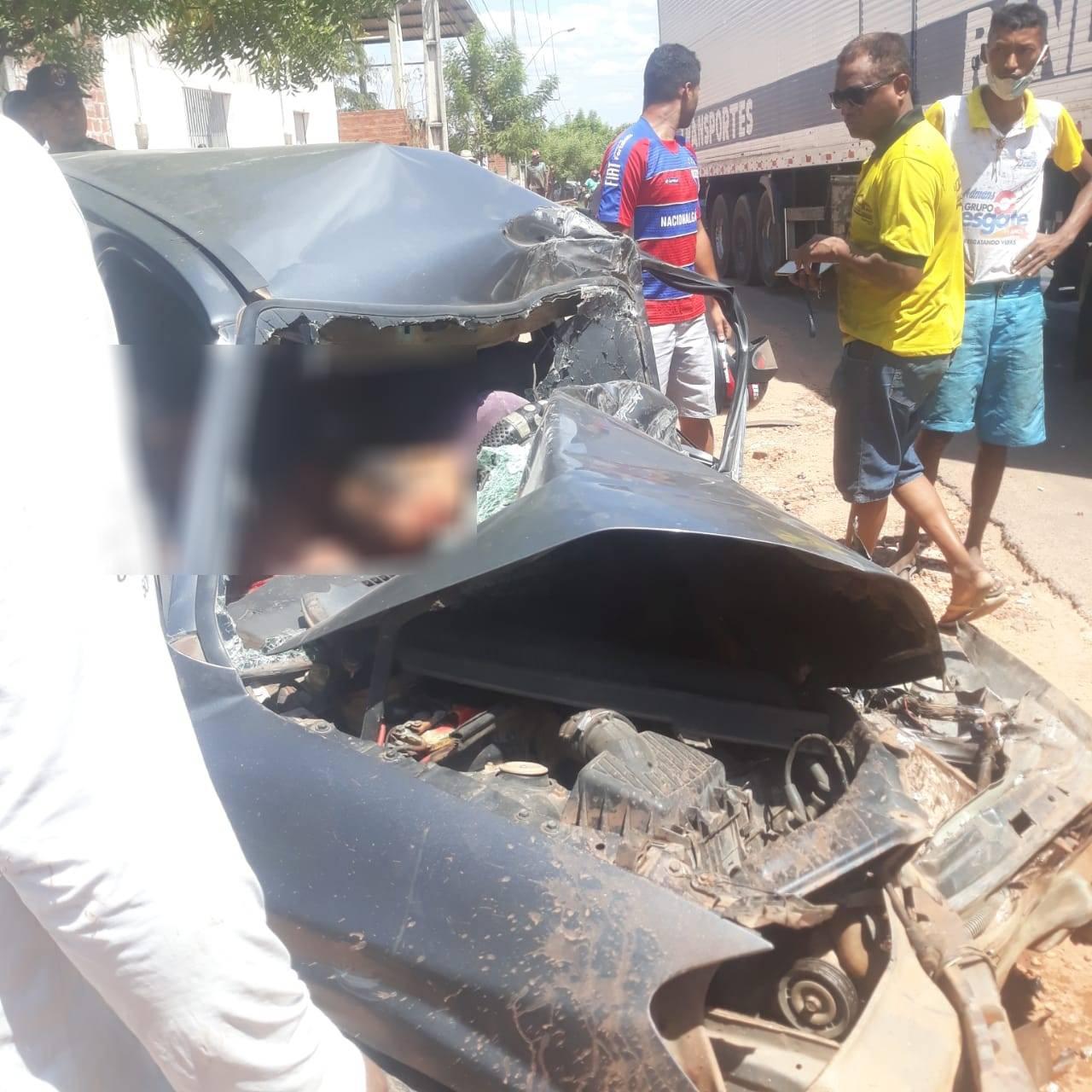 Motorista morre em grave colisão na BR-316 em Timon - Imagem 2