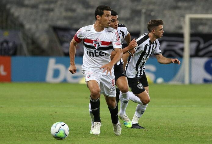 São Paulo perdeu por 3 a 0 para Atlético-MG-Foto: SPFC