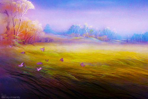 Paisagens impressionistas marcam a produção. Crédito: Disney.