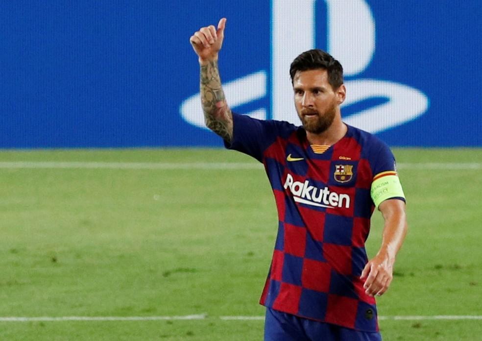 Messi decidi ficar no Barcelona (Reuters)