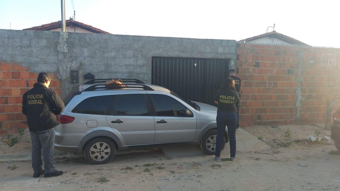 Polícia Federal deflagra operação contra tráfico no litoral / Crédito: PFPolícia Federal deflagra operação contra tráfico no litoral / Crédito: PF