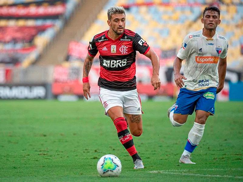 Flamengo vence o Fortaleza Foto: Alexandre VidalFlamengo vence o Fortaleza Foto: Alexandre Vidal