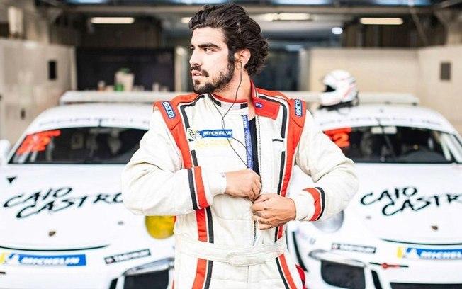 Ator investi em carreira de piloto profissional -Foto: InstagramCaio Castro.