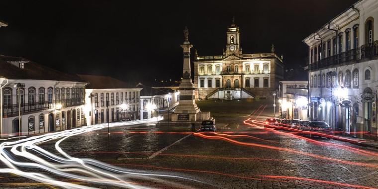 FOTO DA SEMANA: Praça Tiradentes, em Ouro Preto (MG)