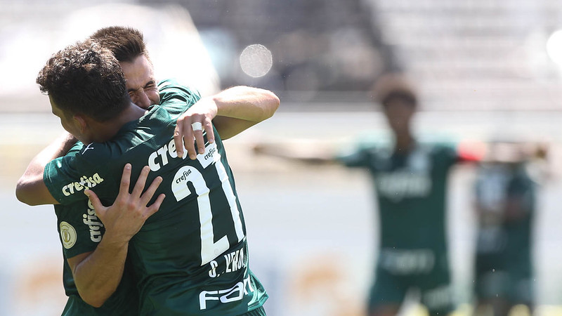 Palmeiras vence o Red Bull Bragantino / Crédito: Cesar Greco
