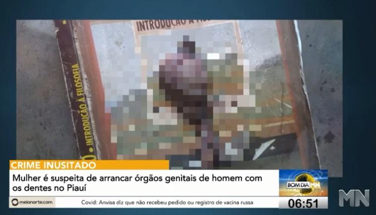 Mulher que arrancou órgão genital de homem com os dentes deve se apresentar à polícia - Imagem 1