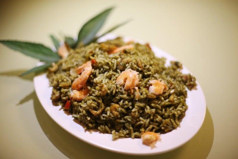O arroz de cuxá é um dos pratos típicos da região, muito apreciado por moradores e turistas. Crédito: Roberto Castro/MTur