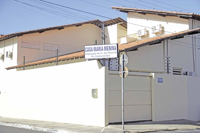 Casa de acolhimento Maria Menino, em Teresina - Foto: José Alves Filho