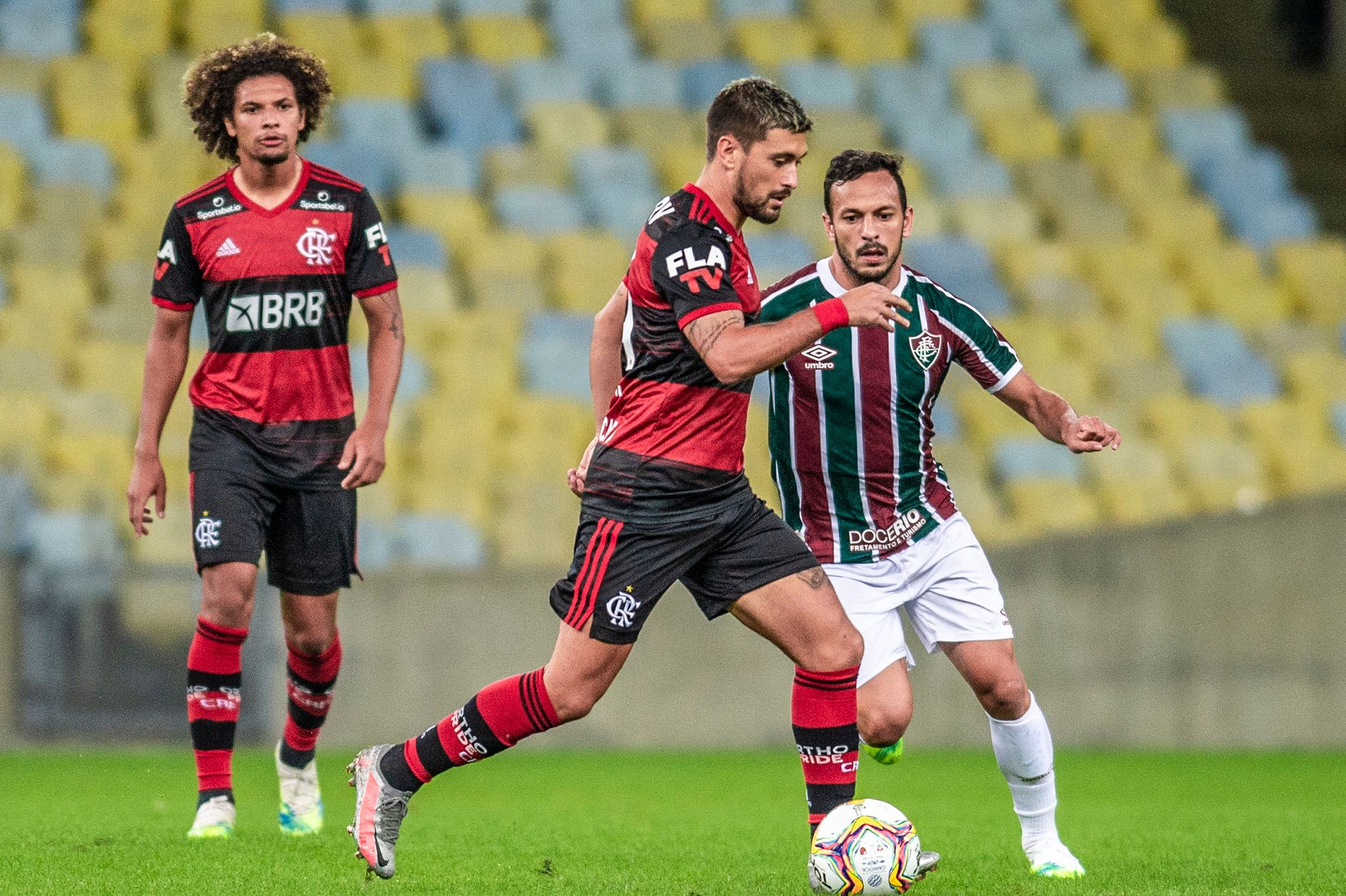 Flamengo segue bem preparado contra Fluminense- Foto: Alex Vidal
