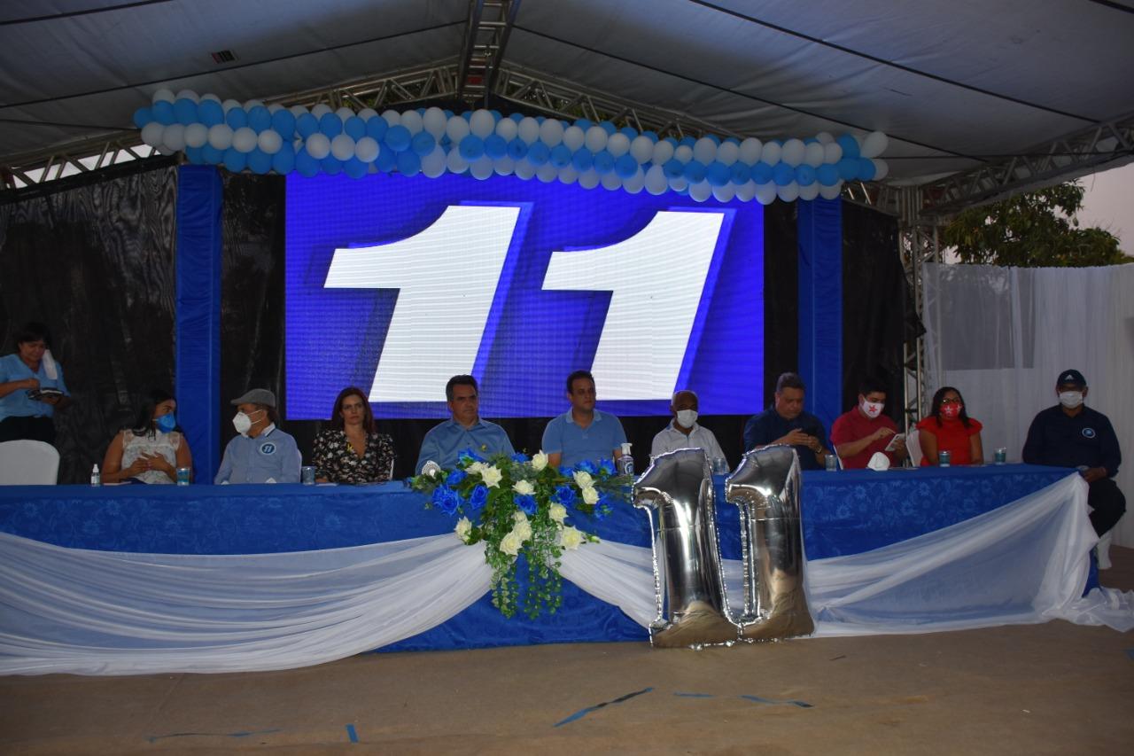 Convenção partidária em Amarante