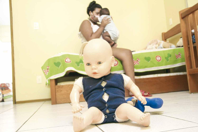 Casa faz serviço sócioassistencial a jovens grávidas - Foto: José Alves Filho