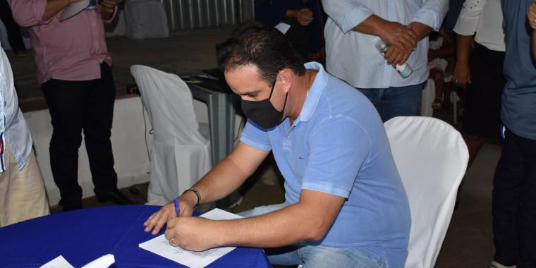 Amarante: convenção confirma Diego Teixeira como candidato à reeleição