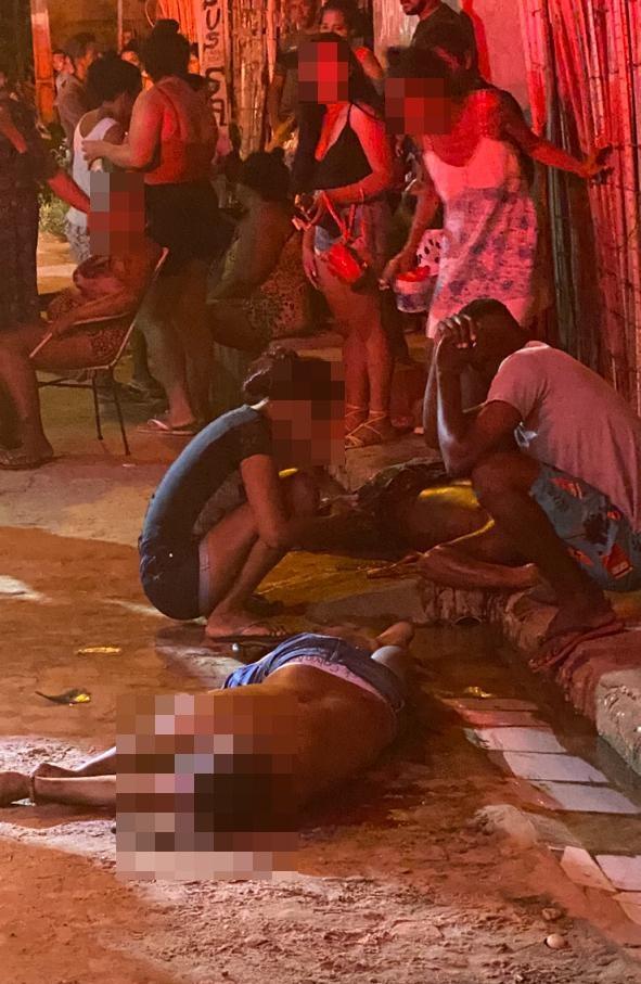 Irmãos foram mortos a tiros em rua de Timon - Foto: Reprodução
