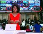 Cena de sexo em telão do Jornal HJ pega mal e repercute nas redes