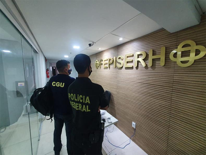 PF deflagra operação e apura irregularidades na compra de EPIs - Foto/Divulgação PF