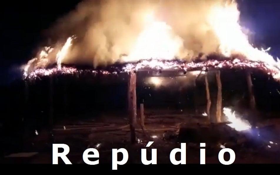 Indígena teve a casa incendiada  - Imagem 1
