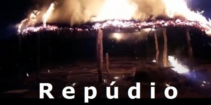Indígena teve a casa incendiada