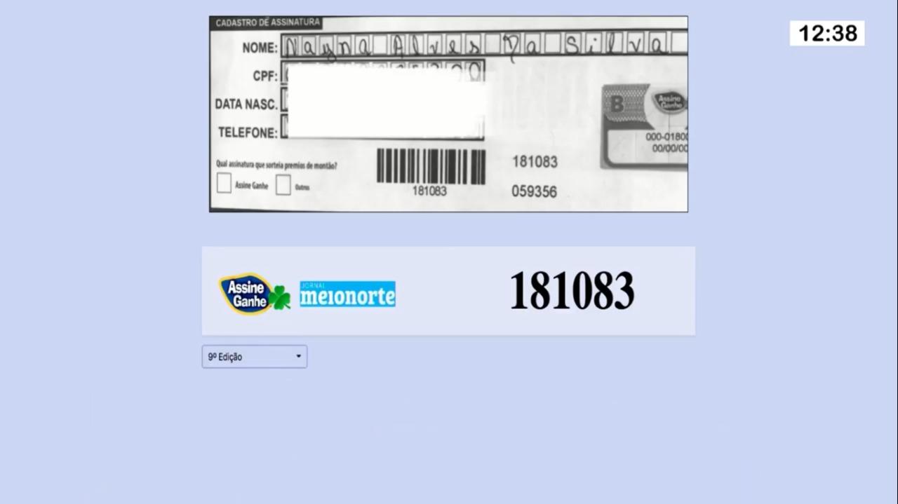 Assine Ganhe: 113° sorteada ganha R$ 10.000,00 e receberá prêmio na MN - Imagem 1
