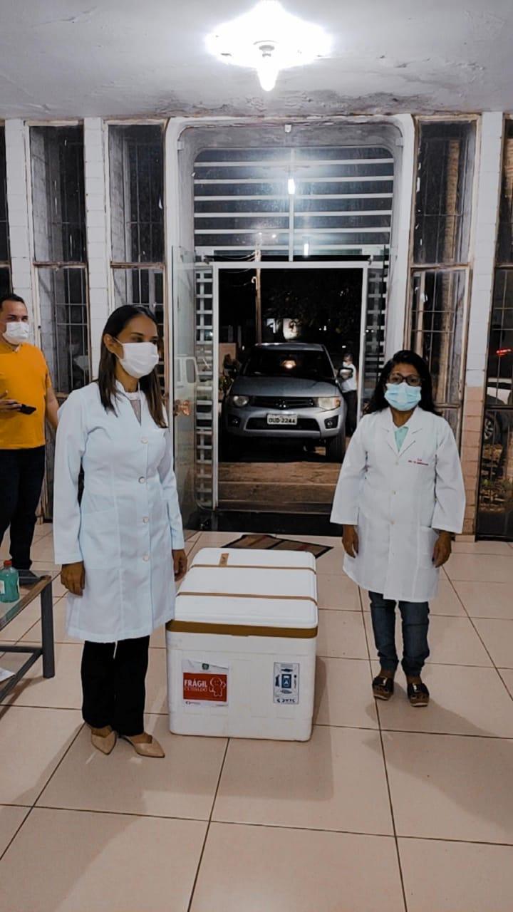 Municípios do Piauí recebem primeiras doses da vacina contra Covid-19 - Imagem 9