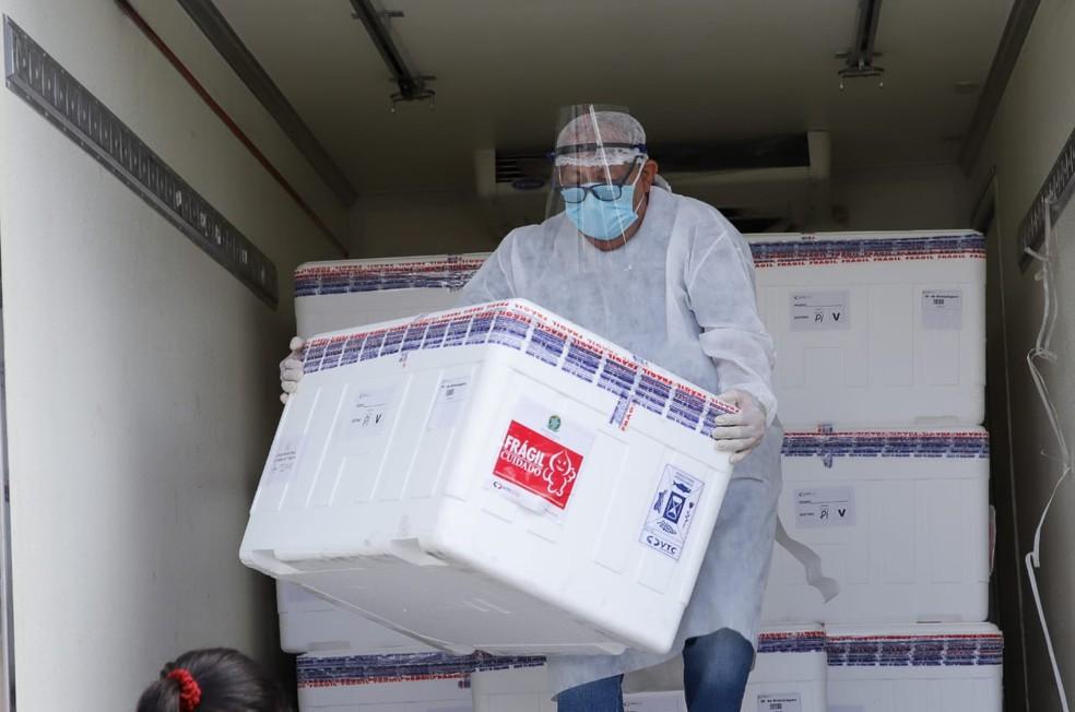 Doses de vacina contra Covid-19 chegam ao Piauí - Foto: Divulgação/Sesapi