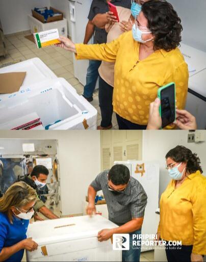 Municípios do Piauí recebem primeiras doses da vacina contra Covid-19 - Imagem 4