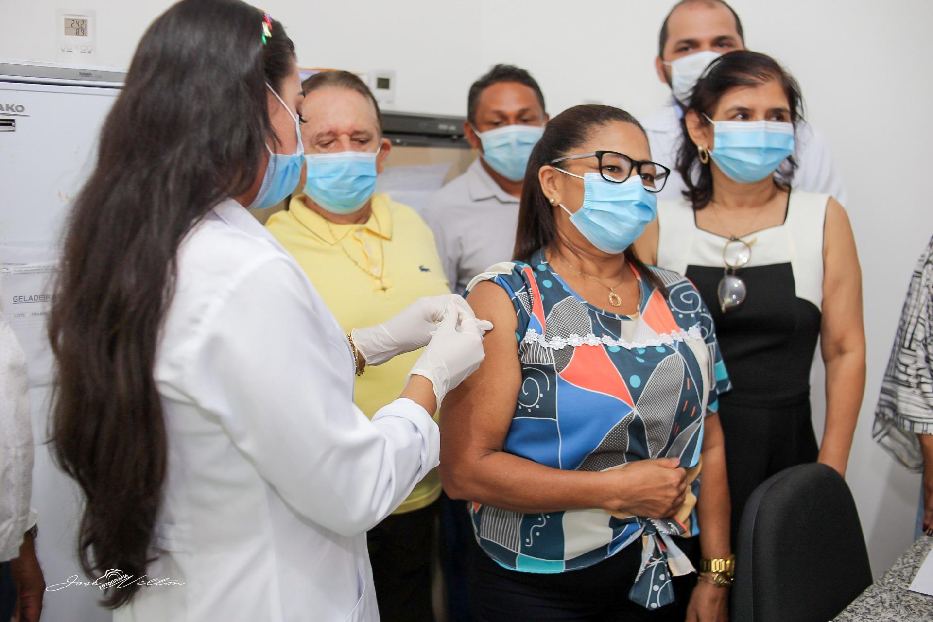 Uruçuí recebe vacina contra Covid-19 - Imagem 2