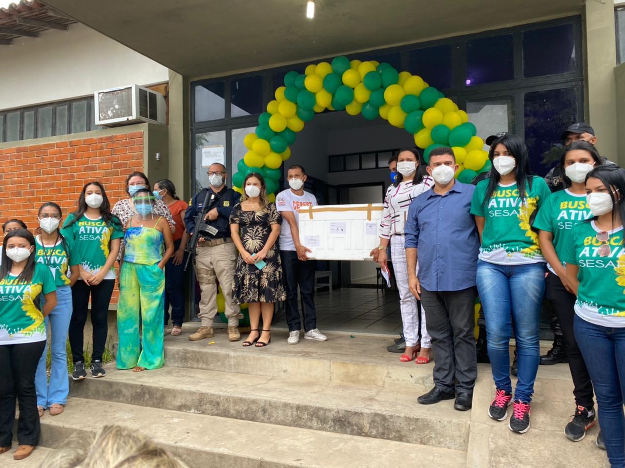 Municípios do Piauí recebem primeiras doses da vacina contra Covid-19 - Imagem 5