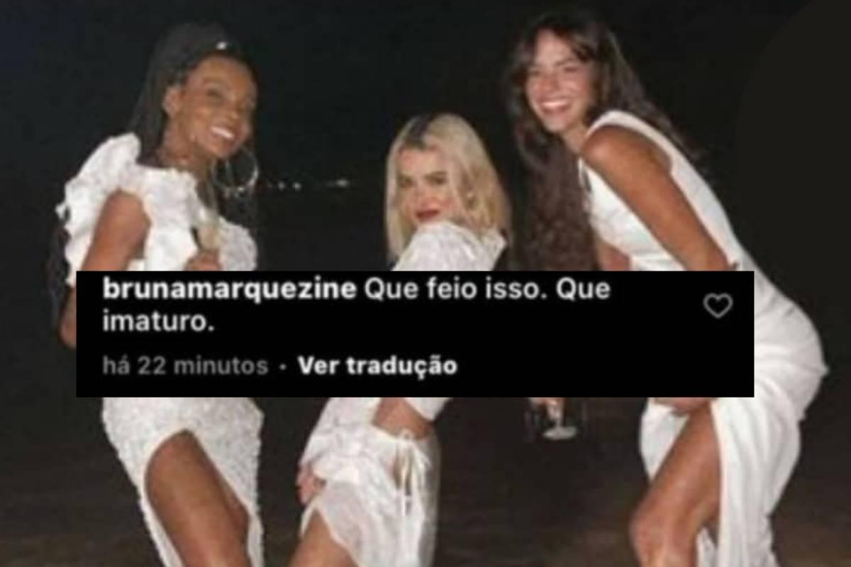 """Marquezine se irrita com fã que apagou Kalimann de foto: """"Imaturo"""" - Imagem 2"""