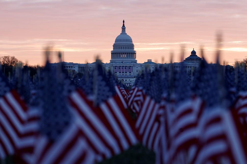 EUA: Biden assume presidência e posse não terá Trump nem multidão - Foto: Carlos Barria/Reuters