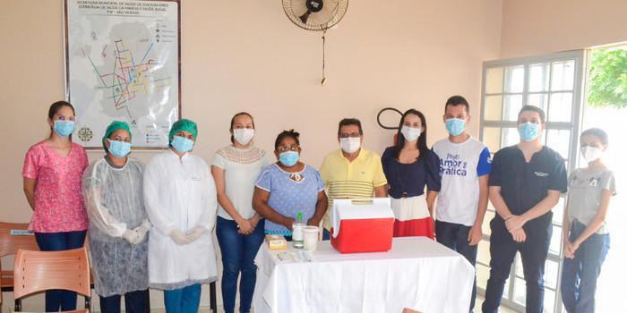 Joaquim Pires inicia vacinação contra COVID-19