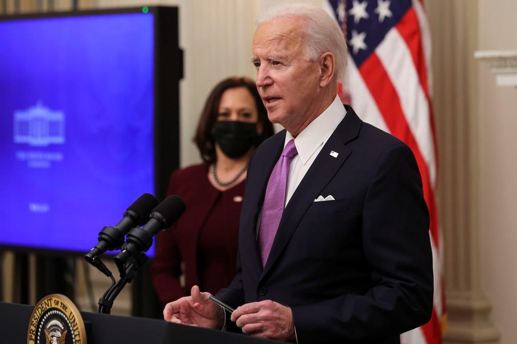 Joe Biden apresenta plano de combate à Covid-19 nos EUA