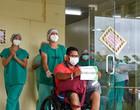 Cinco pacientes recebem alta e já retornam para Manaus nesta sexta
