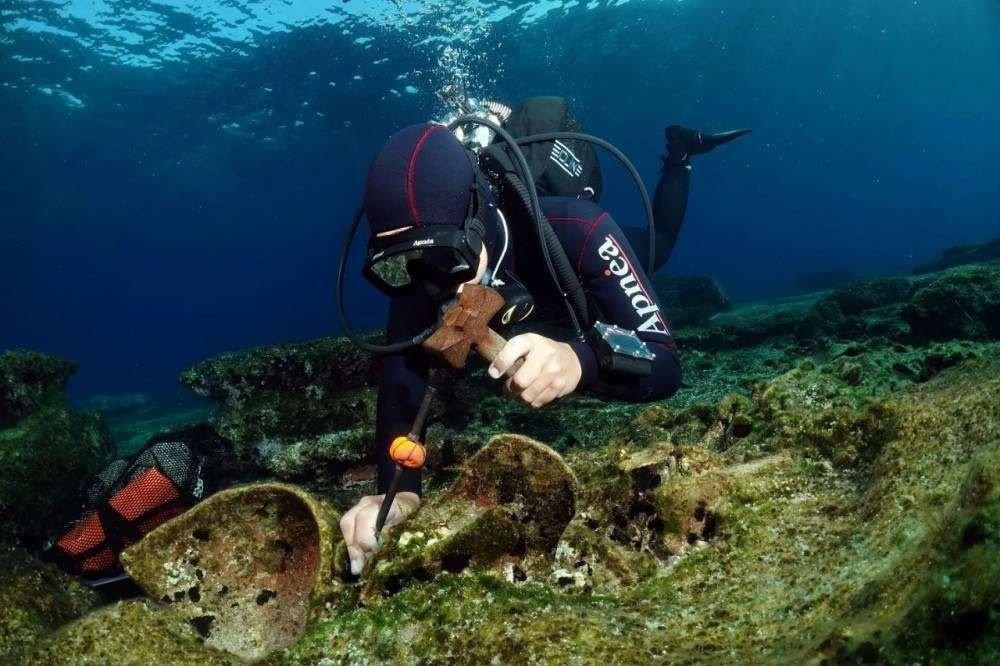 Mergulhadores (Foto: divulgação)