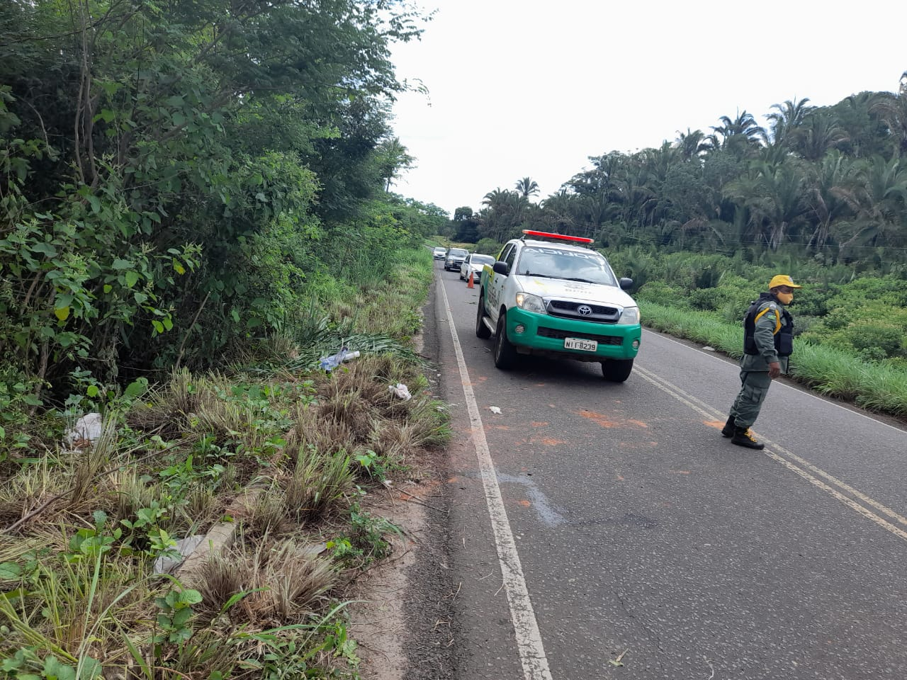Quatro pessoas ficam feridas em grave acidente em José de Freitas - Imagem 2