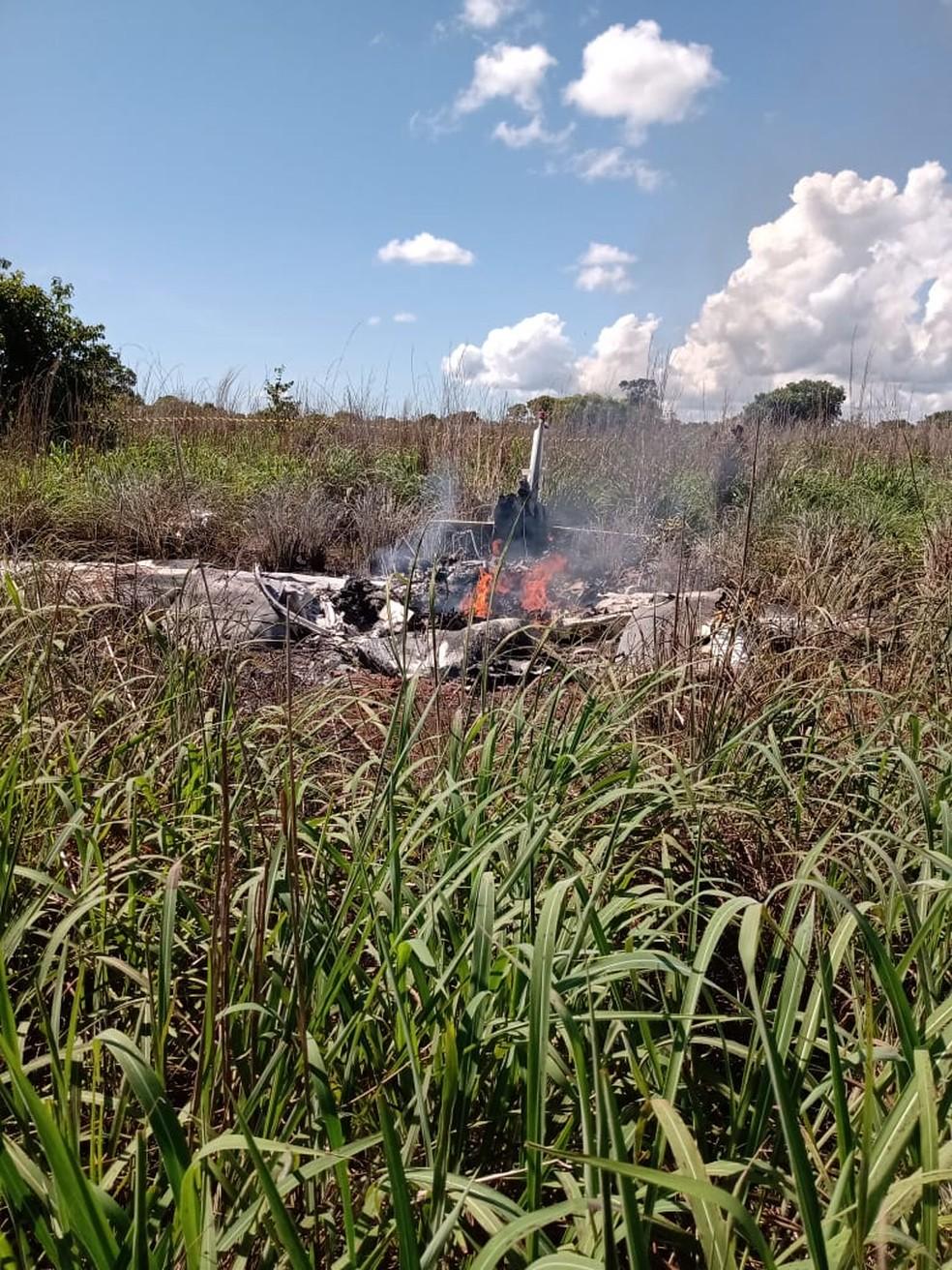 Avião explodiu logo após decolar - Foto: Divulgação